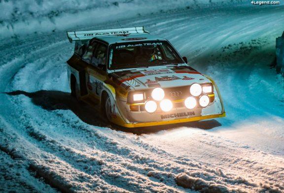 GP Ice Race 2020 - Les pilotes de course Audi ont fait le show sur la glace