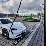 Porsche Turbo Charging – Ouverture du parc de recharge rapide le plus puissant d'Europe à Leipzig
