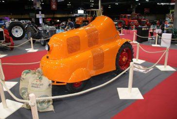 Rétromobile 2020 - Tracteur Allgaier System Porsche P 312 de 1954