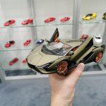 Spielwarenmesse 2020 – Miniature Lamborghini Sián FKP 37 au 1:18 par Bburago
