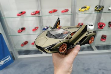 Spielwarenmesse 2020 - Miniature Lamborghini Sián FKP 37 au 1:18 par Bburago