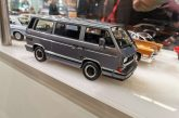 Spielwarenmesse 2020 - Miniature Porsche B32 gris au 1:18 par K&K Scale