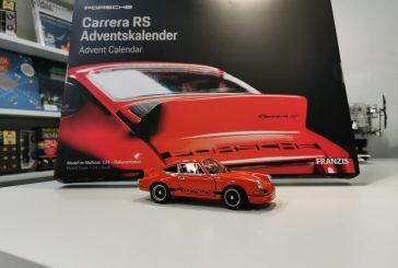 Spielwarenmesse 2020 - Calendrier 2020 Franzis : miniature Porsche 911 Carrera RS au 1:24