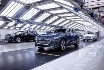 Arrêt temporaire de la production de l'Audi e-tron