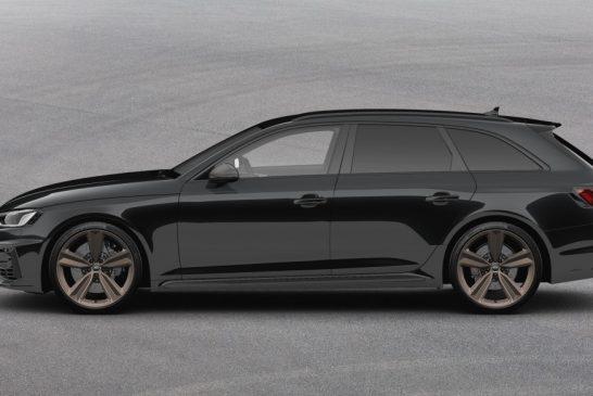 Audi RS 4 Avant Bronze Edition - Une édition limitée exclusive de 25 exemplaires