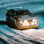GP Ice Race 2020 – Les pilotes de course Audi ont fait le show sur la glace