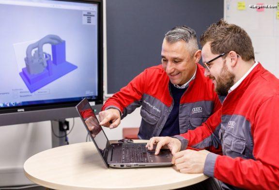 Audi démontre son expertise en impression 3D avec un logiciel de conception interne à Neckarsulm