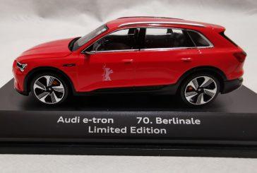 Miniature Spark 1:43 de l'Audi e-tron pour les 70 ans de la Berlinale - 1 000 exemplaires