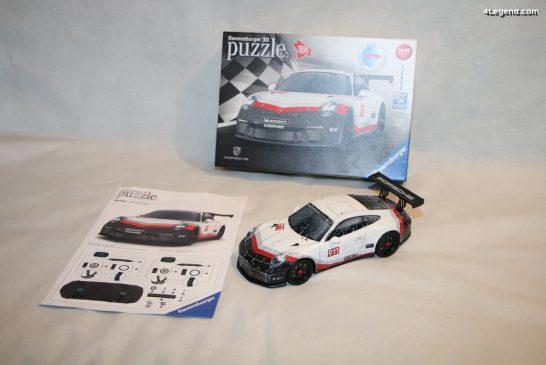 Miniature Porsche 911 GT3 Cup en puzzle 3D par Ravensburger