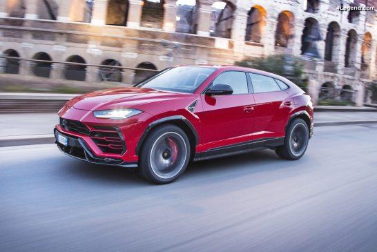 Le Lamborghini Urus récompensé par le prix Best Cars 2020 en catégorie SUV