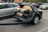 Une Audi A7 Sportback transformée en remorque barbecue