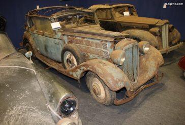 Rétromobile 2020 - Audi Front 225 Cabriolet de 1936 ex Roger Baillon