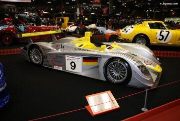 Rétromobile 2020 - Audi R8 LMP 900 #405 : 2ème aux 24 Heures du Mans 2000