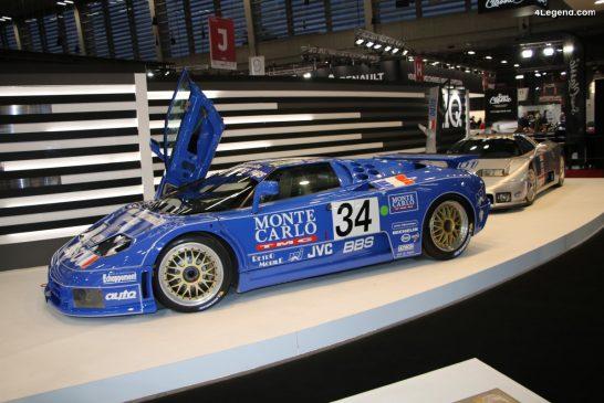 Rétromobile 2020 - Réunion des deux Bugatti EB 110 de course