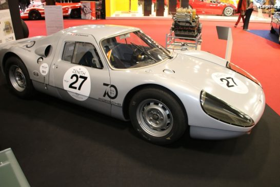 Rétromobile 2020 - Porsche 904/8 de 1964 - 3 exemplaires produits