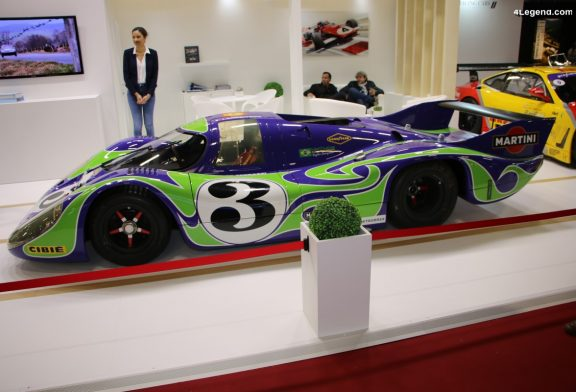 Rétromobile 2020 - TOP 10 des Porsche de course