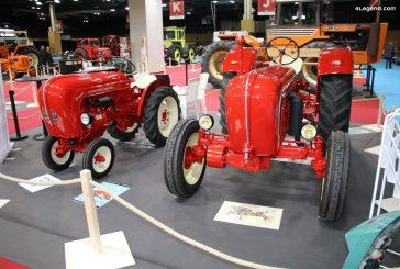 Rétromobile 2020 – Tracteurs Porsche-Diesel