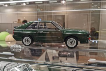 Spielwarenmesse 2020 - Miniature Audi Sport quattro verte par Norev au 1:18