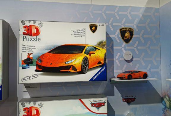 Spielwarenmesse 2020 - Puzzle 3D Lamborghini Huracán EVO par Ravensburger