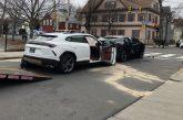 2 Lamborghini Urus accidentés suite à leur vol par 2 enfants