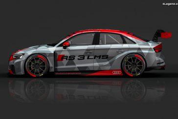 Des Audi RS 3 LMS aux couleurs des R8 victorieuses aux 24h du Mans 2000