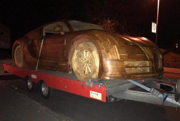 Une Bugatti Veyron en bois au 1:1 à vendre 16 850 euros
