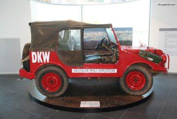 Expéditions de DKW Munga à travers le monde de 1958 à 1963