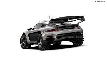 Gemballa 4x4 Avalanche sur base de Porsche 911 - La 911 off-road