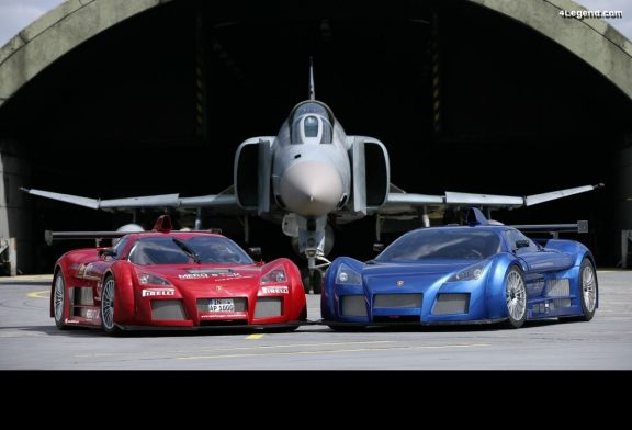 Gumpert Apollo vs F4 Phantom : Rencontre supersonique
