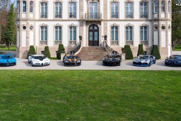 Le line-up Bugatti le plus cher et le plus exclusif du monde