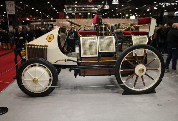 """Lohner-Porsche """"Semper Vivus"""" de 1900 - L'ancêtre du véhicule hybride"""