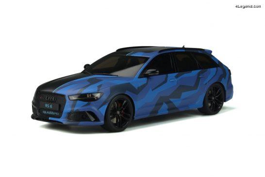 Miniature Audi RS6 Avant de GMK au 1:18 par GT Spirit