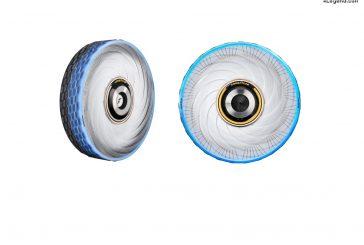 Pneu-concept Goodyear reCharge - Un pneu polyvalent pouvant se regénérer via des capsules personnalisées