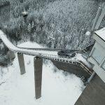 Montée du tremplin de ski de Kaipola : l'efficacité de la technologie Audi quattro prouvée à 2 reprises
