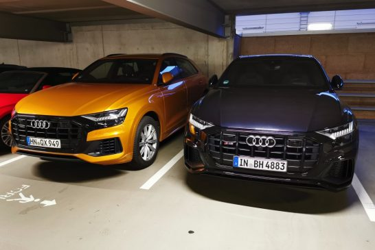 Rappels urgents d'Audi Q7 et Q8 pour un problème de direction