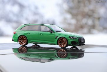 Miniature ABT RS4+ Viper Green GT Spirit au 1/18