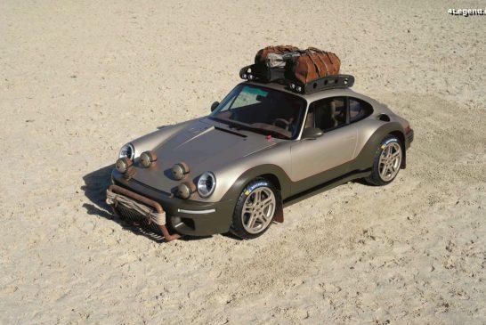 RUF Rodeo Concept 2020 - Un concept off-road sur base des CTR Anniversary et SCR