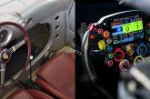 Évolution des volants des voitures de course Porsche