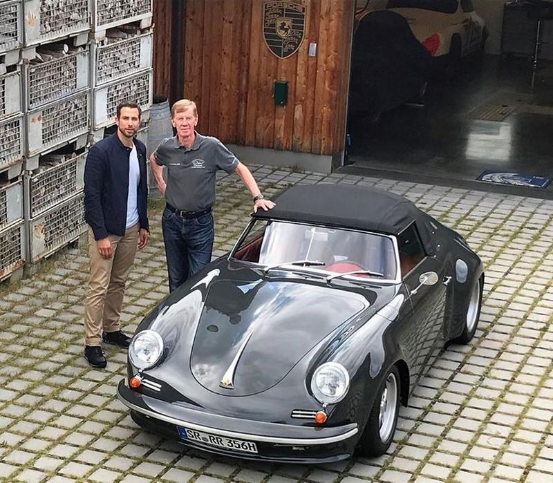 Walter Röhrl Porsche