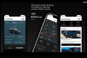 Audi EV & me - Une application personnalisée pour passer à l'électrique