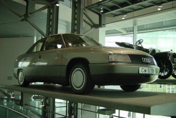 Audi 80 Cw concept de 1984 - Un Cx record de 0,198