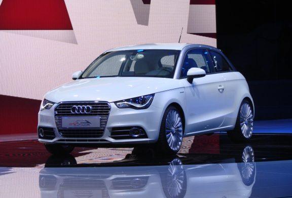 Audi A1 e-tron concept de 2010 - La citadine zéro émission
