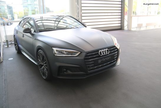 Audi A5 Sportback g-tron Wörthersee de 2017