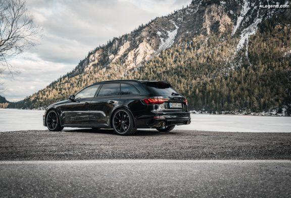 Plus de puissance (530 ch) pour l'Audi RS 4 B9 avec l'ABT Power S