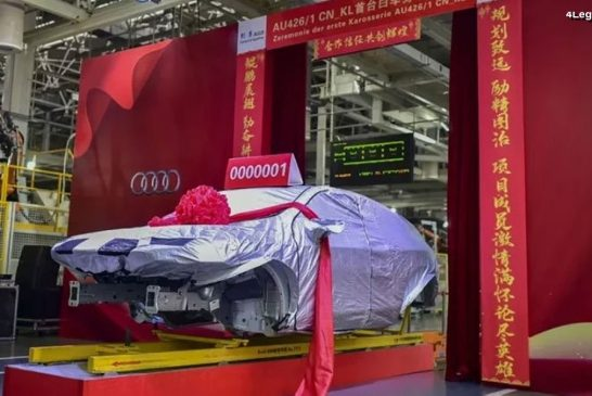Lancement de production de l'Audi Q5 Sportback
