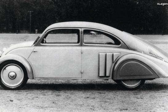 DKW Stromlinie de 1933 - Un prototype d'essai à carrosserie aérodynamique