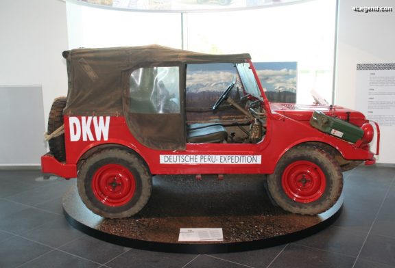 Expéditions de DKW Munga à travers le monde de 1958 à 1963