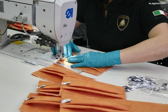 Covid-19 : Lamborghini lance la production de masques chirurgicaux et d'écrans de protection