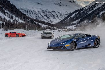 Expérience de conduite hivernale Lamborghini Esperienza Accademia Neve 2020 à Livigno