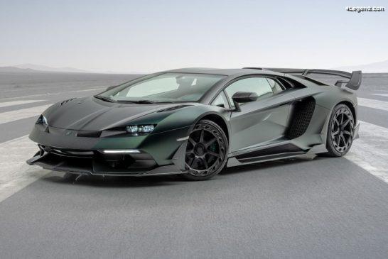 Mansory Cabrera - Une Lamborghini Aventador SVJ spéciale limitée à 3 exemplaires